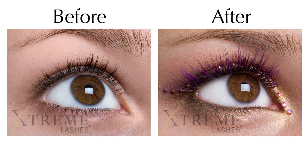 Eyelash Extensions by Xtreme Lashes in Southfield MI | Pigalle Salon