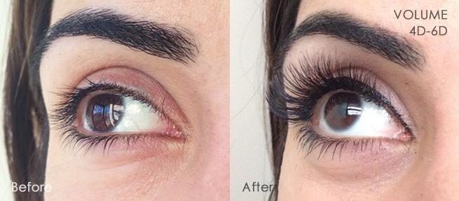 Volume Lashes - Eyelash Extensions in Southfield MI | Pigalle Salon