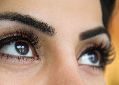 Volume Lashes Eyelash Extensions After side