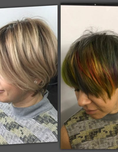 Haircut-and Color Before and After MI